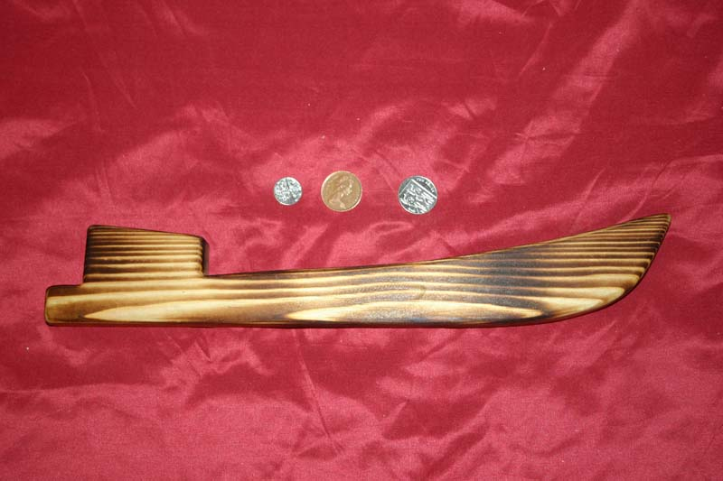 Range of key racks - canal boat with scorched finish